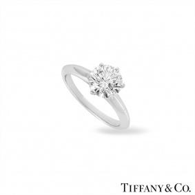 Tiffany & Co. Setting Band Ring 1.53ct E/VVS1